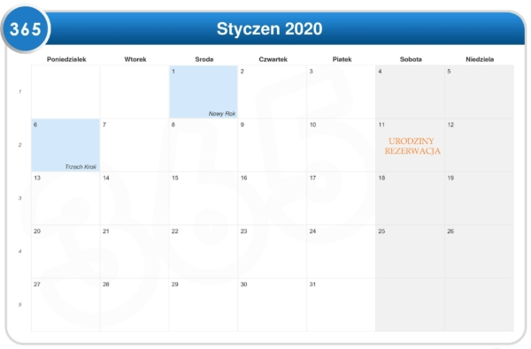 Kalendarz terminow